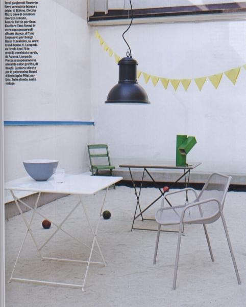 lampada da tavolo verde